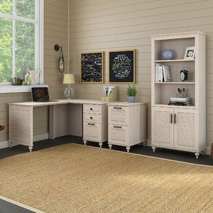 Volcano Dusk 7 Piece Office Set with Hutch