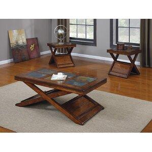 Benicia 3 Piece Coffee Table Set