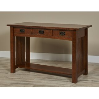 Linnea 3 Drawer Console Table by Millwood Pines