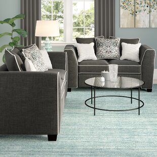 Andover Mills Clouser 2 Piece Living Room Set