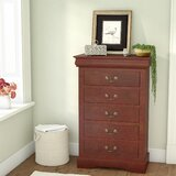 Hutcheson 5 Drawer Chest by Three Posts