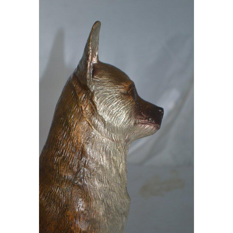 Red Barrel Studio Jamaica Way Sitting Chihuahua Statue Wayfair