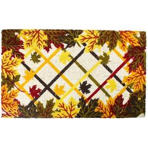 Buy Harvest Lattice and Leaves Doormat!