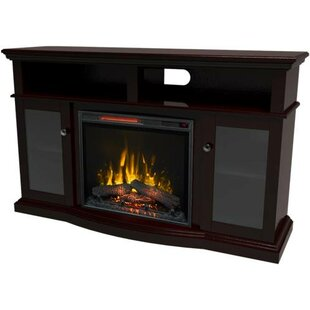Mares TV Stand for TVs up to 61 with Electric Fireplace by Red Barrel Studio