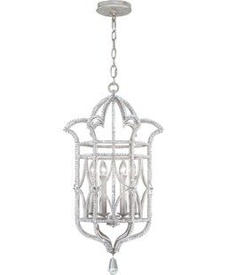 Fine Art Lamps Prussian Neoclassic 6-Light Outdoor Pendant