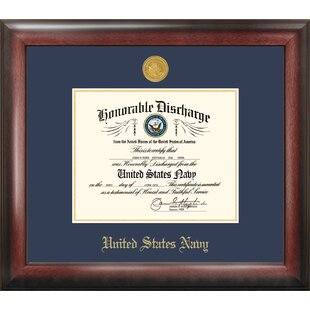 Navy Discharge Picture Frame By Patriot Frames