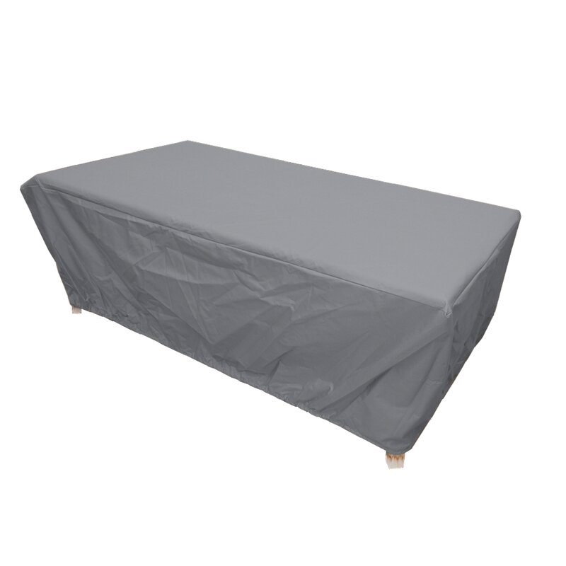 Arlmont Co Premium Tight Weave Rectangular And Oval Water Resistant Patio Table Cover Reviews Wayfair