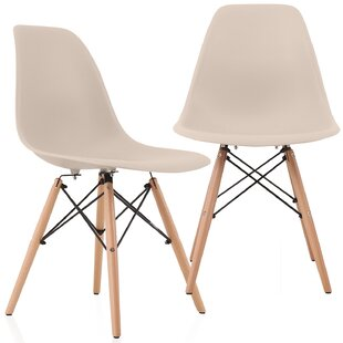 Wrought Studio Aquarius Dining Chair (Set of 2)