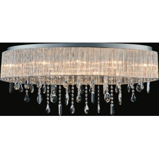 CWI Lighting Jacquimo 10-Light Flush Mount