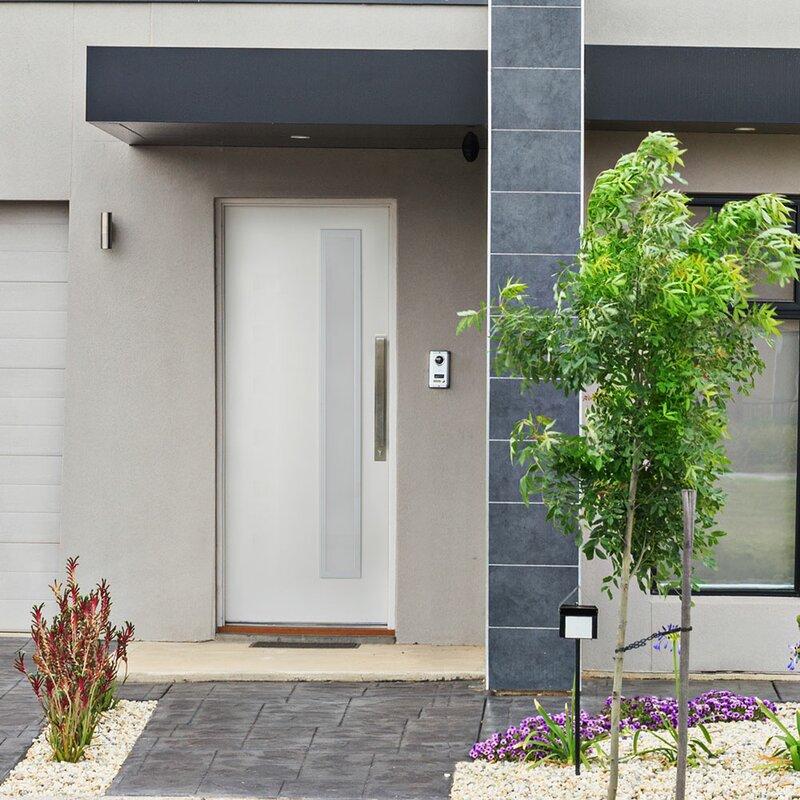 Trimlite Inswing Smooth Fiberglass Prehung Front Entry Door Wayfair