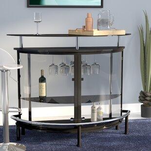Wade Logan Bethlehem Bar with Wine Storage