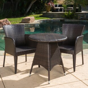 Mercury Row Keely 3 Piece Dining Set
