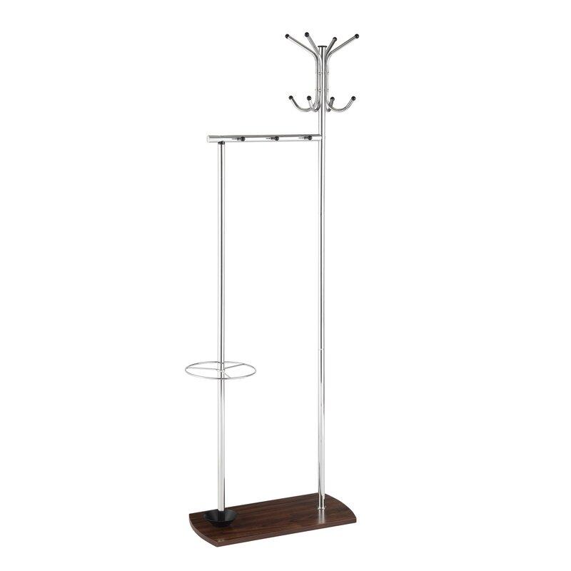 Jemuel Freestanding Coat Rack Reviews Birch Lane Inspiration Free Standing Coat Rack With Shelf