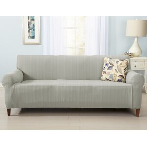 Darla Box Cushion Sofa Slipcover by Home Fashion Designs