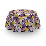 Groovy Exotic Fantasy Ottoman Slipcover (Set of 2) by East Urban Home