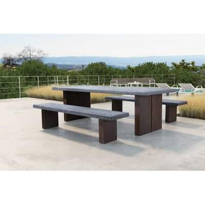 Barbury Rectangular 29.5 Inch Table by 17 Stories New Design