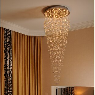 Orren Ellis Leiker Contemporary 16-Light Chandelier
