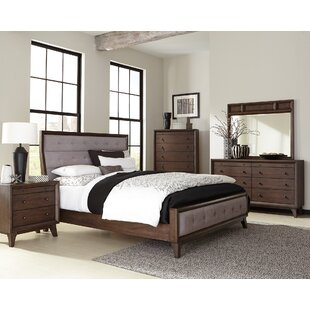 Gracie Oaks Vicente Upholstered Panel Bed