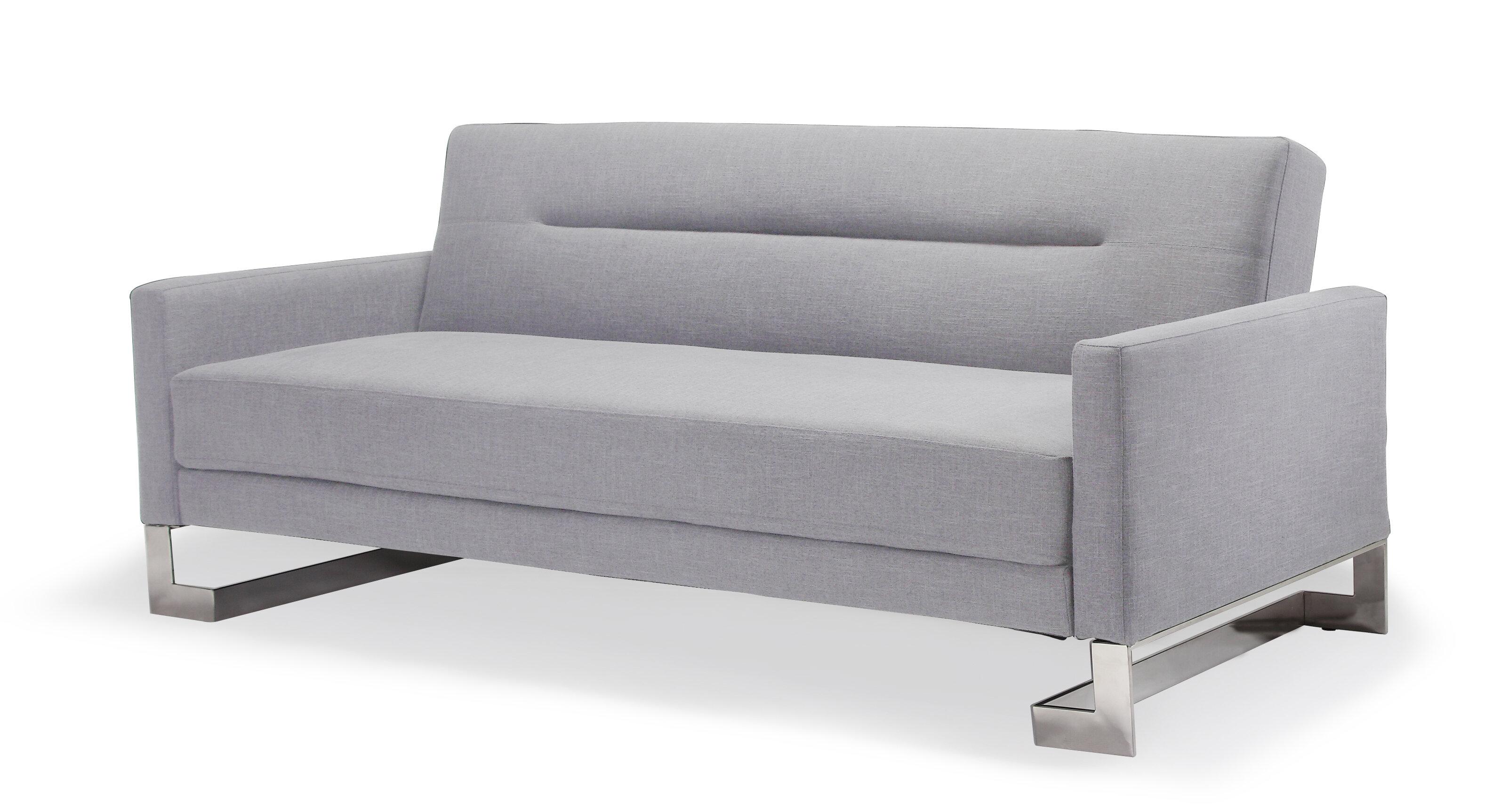 Long Horn Sofa Sleeper | Dark Grey