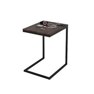 Comparison Springer End Table by Union Rustic