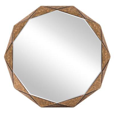 Brayden Studio Faceted Panels Wall Mirror