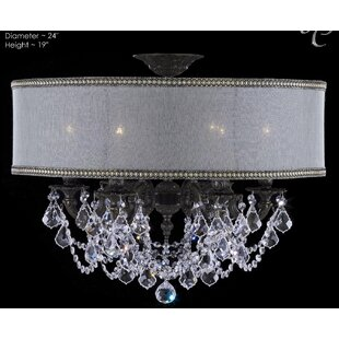 Duncombe 6-Light Crystal C..