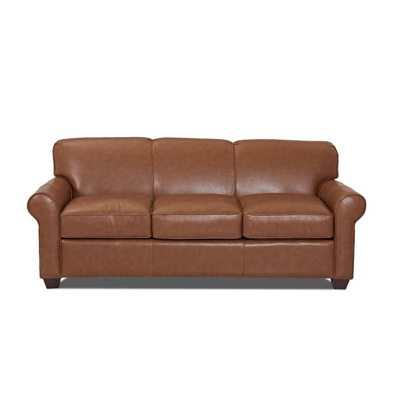 Attrayant Jennifer Genuine Leather Sofa