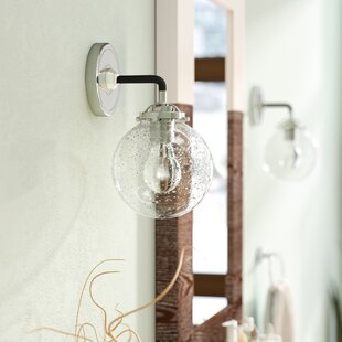 Amey Wall 1-Light Armed Sconce by 17 Stories