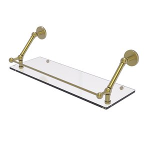 17 Stories Lannette Floating Shelf With G..