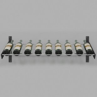 Evolution Series 9 Bottle Wall Mounted Wine Rack