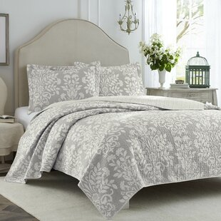 Gray Bedding Silver Bedding Sets You Ll Love Wayfair
