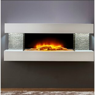 Marrero 2 Wall Mounted Electric Fireplace by Orren Ellis