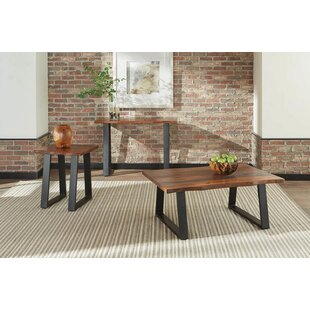 Williston Forge Bracken 3 Piece Coffee Table Set