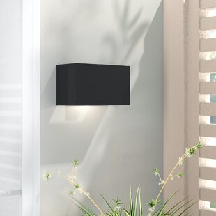 Wade Logan Adele 1-Light Outdoor Flush Mount