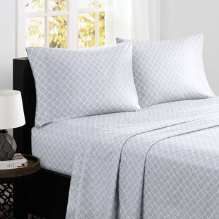 Alcott Hill Washburn 200 Thread Count Percale Sheet Set