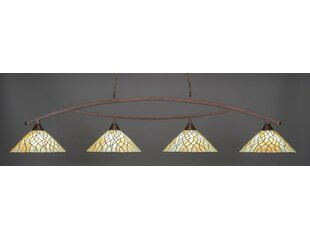 Astoria Grand Austinburg 4-Light Billiard Pendant