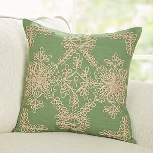 Mia Embroidered Pillow Cover