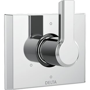 Delta Pivotal 6-Setting 3-Port Diverter Trim