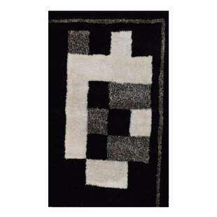 Ry Handwoven Black Indoor/Outdoor Area Rug