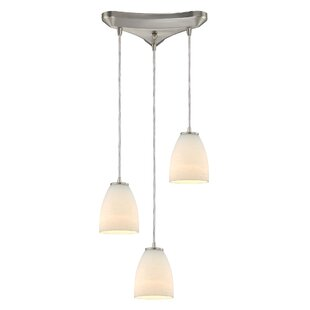 Hermione 3-Light Cluster Pendant by Latitude Run