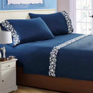 Affordable Luciana  Embroidered Sheet Set By Ophelia & Co.
