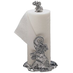 Elephant Free Standing Paper Towel Holder