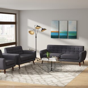 Read Reviews Philip 3 Piece Living Room Set by Ivy Bronx Reviews (2019) & Buyer's Guide