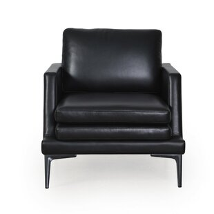 Arteaga Leather Armchair by Brayden Studio