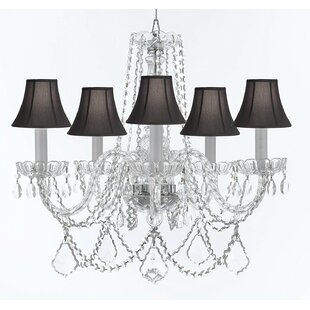 Rosdorf Park Bosco 5-Light Shaded Chandelier