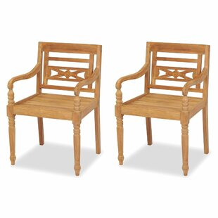 St Albans Garden Chair (Set Of 2) By Sol 72 Outdoor