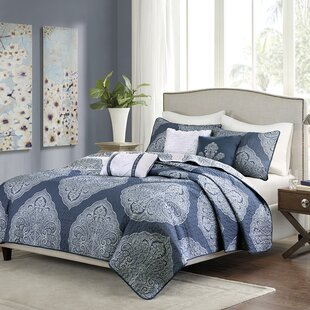Priscilla 6 Piece Coverlet Set