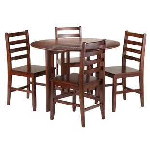 Columbia 5 Piece Dining Set Red Barrel Studio