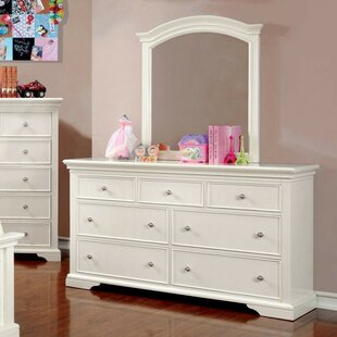 Order Medina 7 Drawer Double Dresser with Mirror by A&J Homes Studio