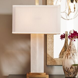 Online Reviews Athanas Alabaster 29 Table Lamp By Uttermost
